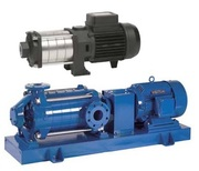 Multistage horizontal centrifugal pumps