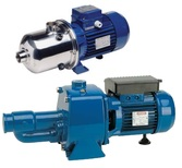 Selfpriming centrifugal pumps