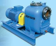 Selfpriming horizontal centrifugal sewage pumps